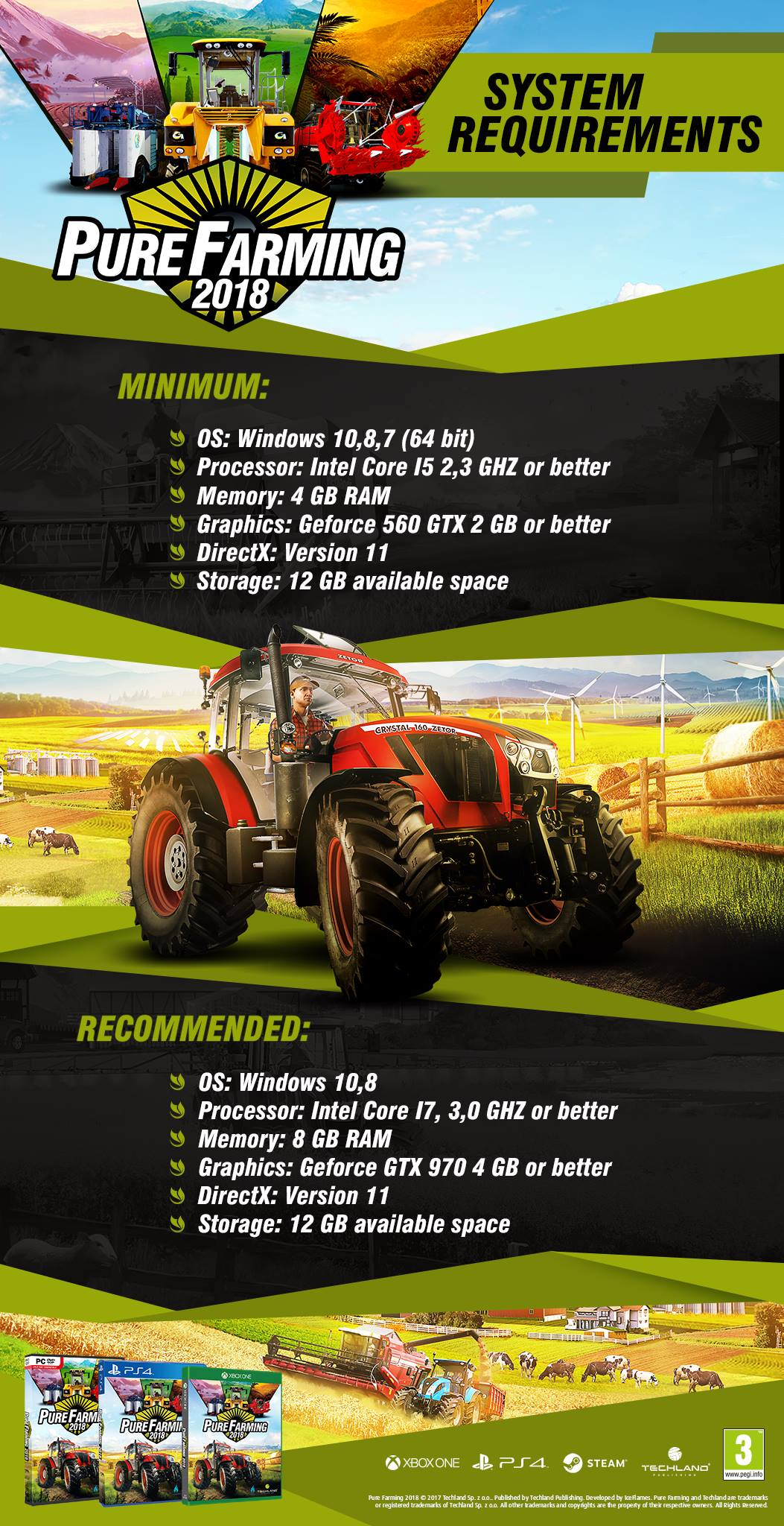 Pure Farming 2018 system requirements - Pure Farming 2018 Mod