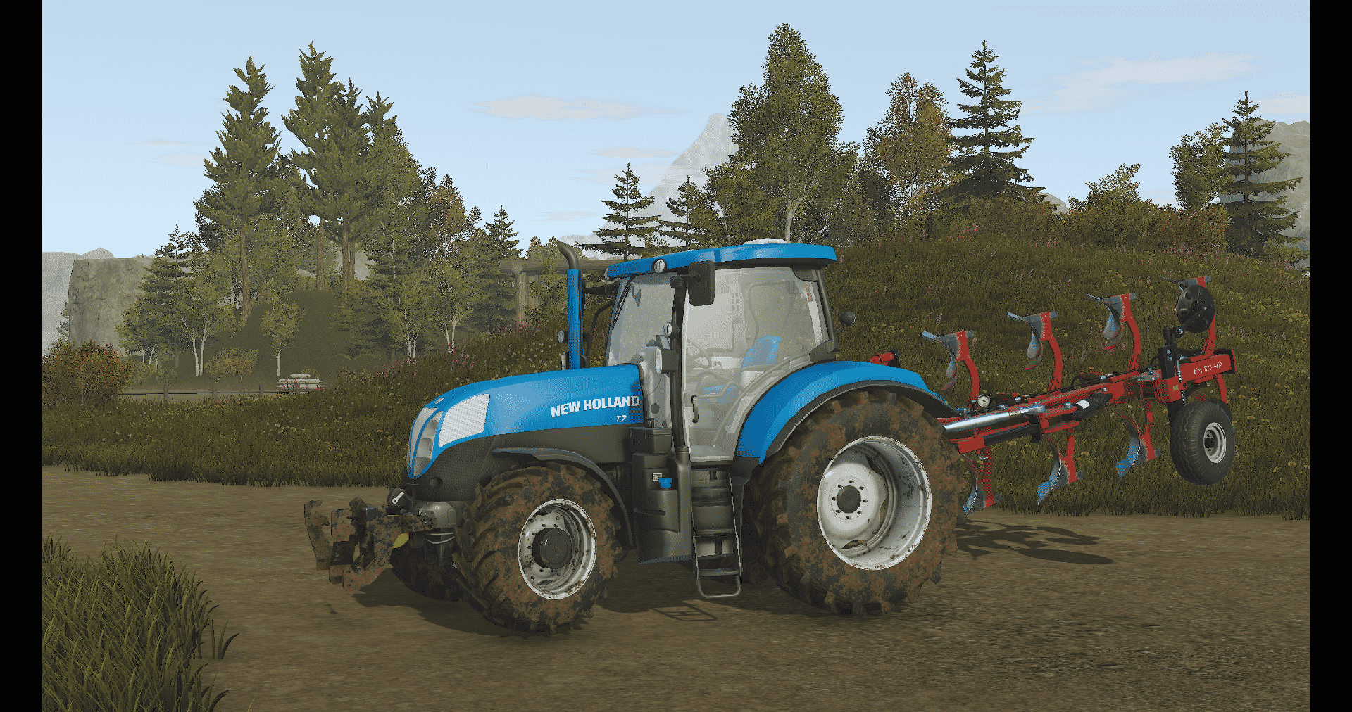 New Holland T7 Tractor - Pure Farming 2018 Mod