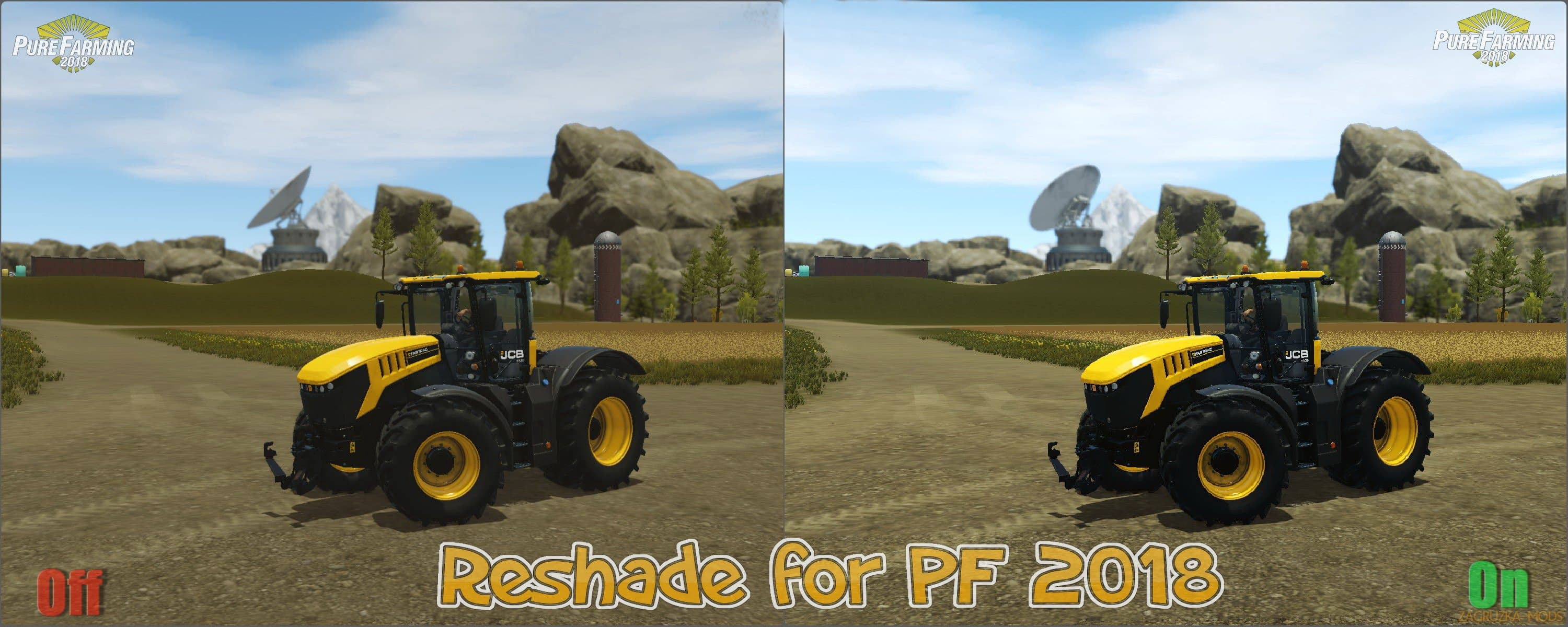 Reshade and SweetFX v1 0 - Pure Farming 2018 Mod